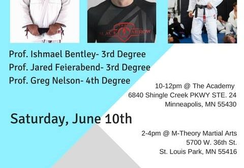 M Theory Martial Arts IJEF Fundraiser June 2017